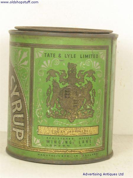 Old Shop Stuff Old Food Tin Lyles Golden Syrup For Sale