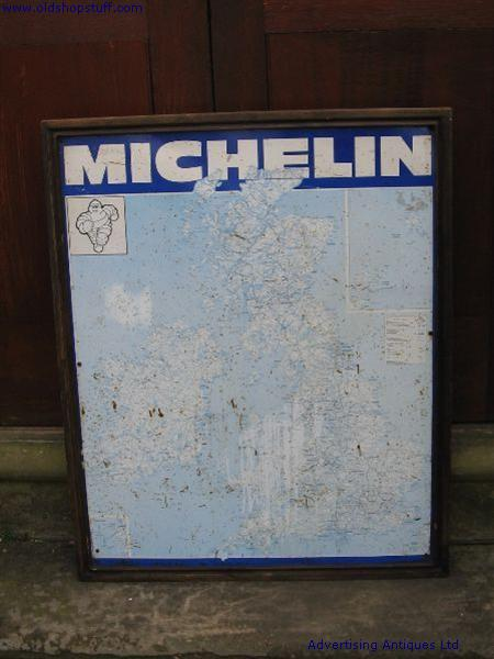 Old shop stuff old map sign michelin uk map for sale 4265 item old map sign michelin uk gumiabroncs Gallery