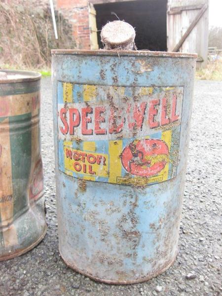 Used Car Auctions >> Old Shop Stuff | Old-Gargage-oil-drum-Speedwell for sale ...