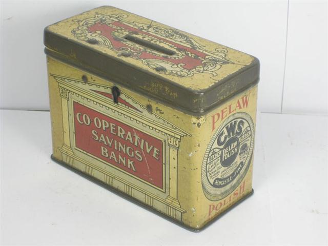 cws pelaw antique. Simple Antique Item Old Tin CWS Pelaw  And Cws Antique I
