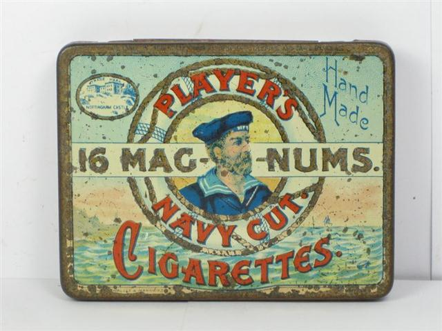Question very vintage cigarette tins