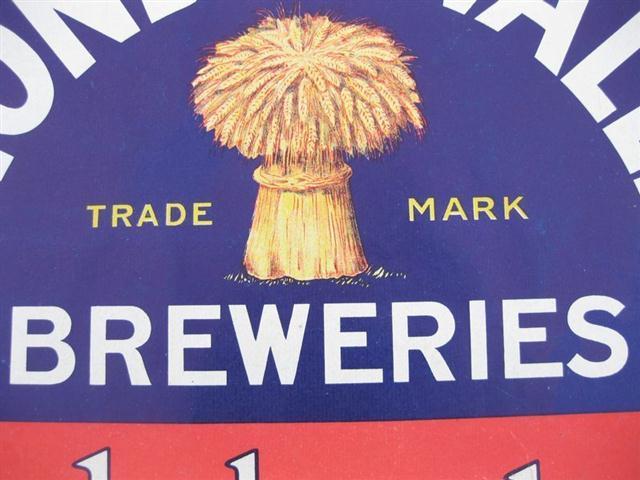 Ambulances For Sale >> Old Shop Stuff | Old-Rhondda-Valley-Brewery-Beer-Barrel-Label-Poster for sale (10094)