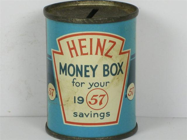 Old Shop Stuff Old Tin For Heinz Money Box For Your 1957