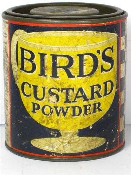 Old Shop Stuff Old Tin For Birds Custard Powder For Sale
