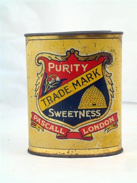 Old Shop Stuff Old Confectionery Tin Pascall Fruit
