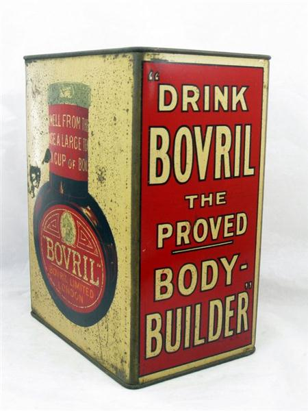 Old Shop Stuff Old Bovril Tin For Sale 11213