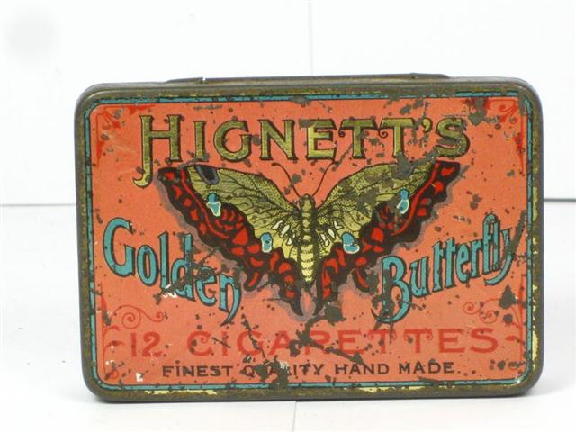 Used Car Auctions >> Old Shop Stuff | Old-Cigarette-Tin-Hignetts-Golden ...