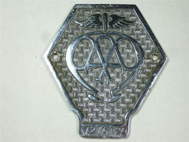 Old Aa Car Badges For Sale