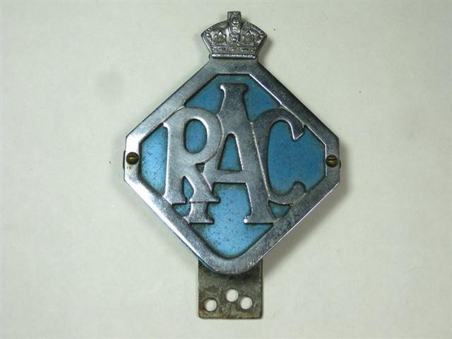 Car For Cash >> Old Shop Stuff | Old-enamel-vintage-car-badge-RAC for sale (11797)