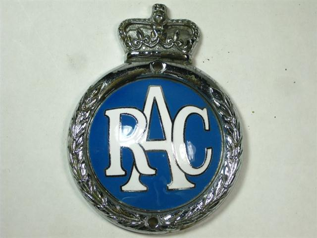 Car And Home Insurance >> Old Shop Stuff | Old-enamel-vintage-car-badge-RAC for sale (11803)