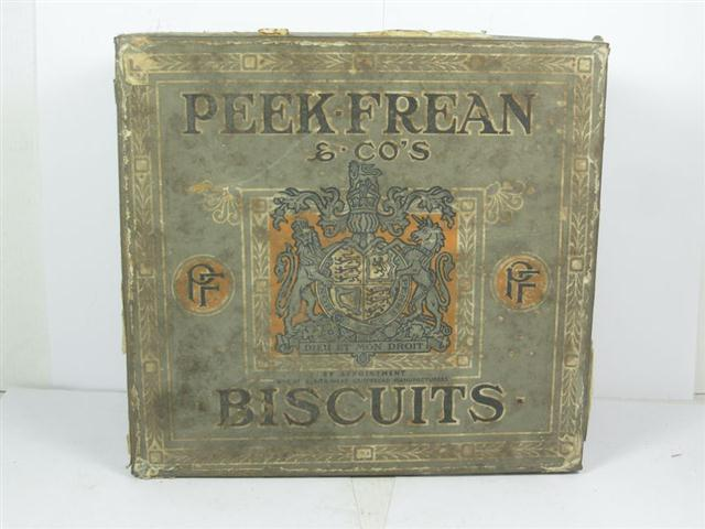 Used Car Auctions >> Old Shop Stuff | Large-old-tin-for-Peek-Frean-Biscuits for ...