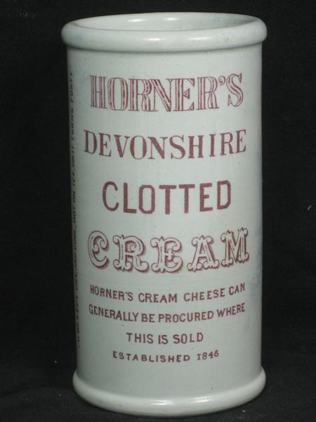 Car Detail Shop >> Old Shop Stuff | Old-Printed-Clotted-Cream-Printed-Jar-or-Pot-Horners-Devonshire for sale (12804)