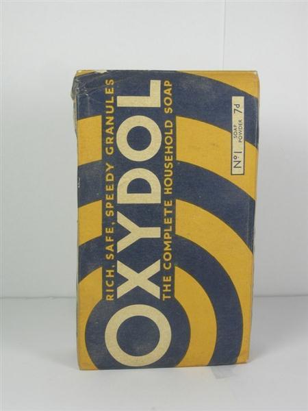 Old Shop Stuff Old Soap Packet Box Washing Powder Oxydol
