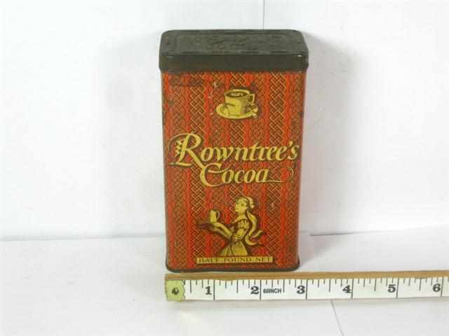 Car Shipping Cost >> Old Shop Stuff | Old-cocoa-tin-Rowntrees-Cocoa for sale ...