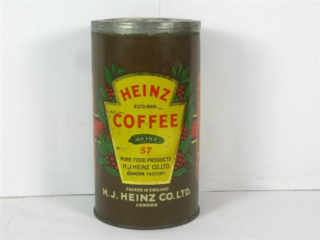 old shop stuff old tin heinz coffee can for sale 15275