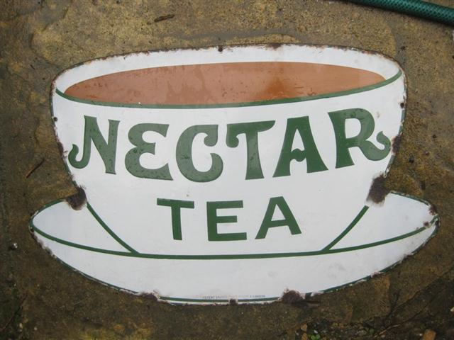 Used Car Auctions >> Old Shop Stuff | Old-enamel-sign-Nectar-Tea-cup-and-saucer ...