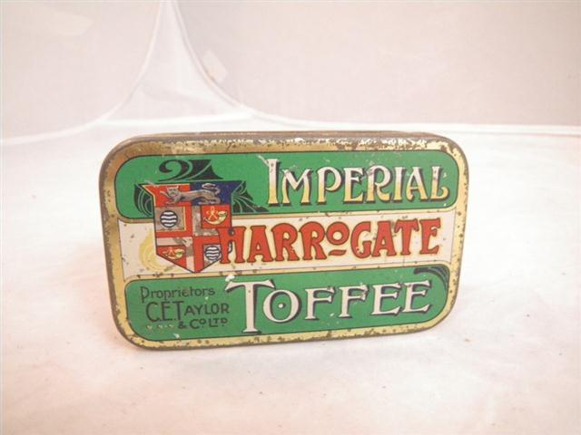 Old Shop Stuff Old Tin Imperial Harrogate Toffee For