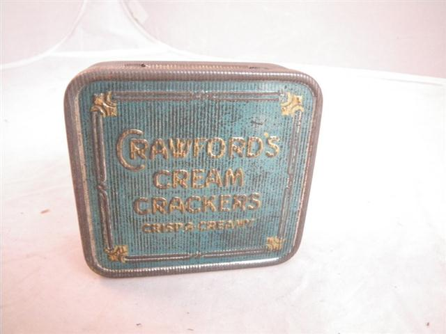 Fords For Sale >> Old Shop Stuff | Old-tin-Crawfords-Cream-Crackers-sample for sale (17450)