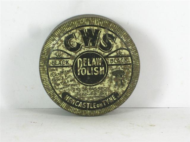 cws pelaw antique. Item: Old Polish Tin CWS Pelaw Cws Antique L