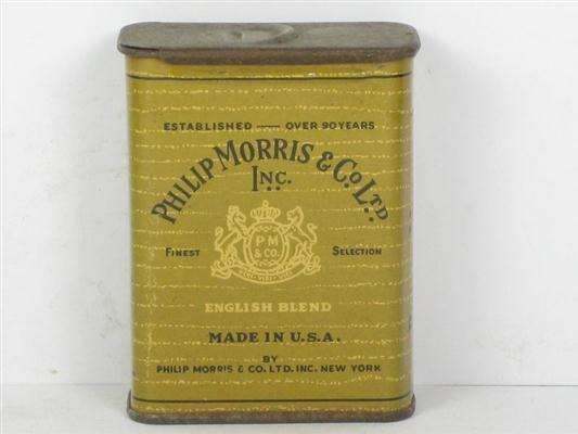 Used Car Auctions >> Old Shop Stuff | Old-Tin-for-Philip-Morris-and-Co-Ltd-Inc ...