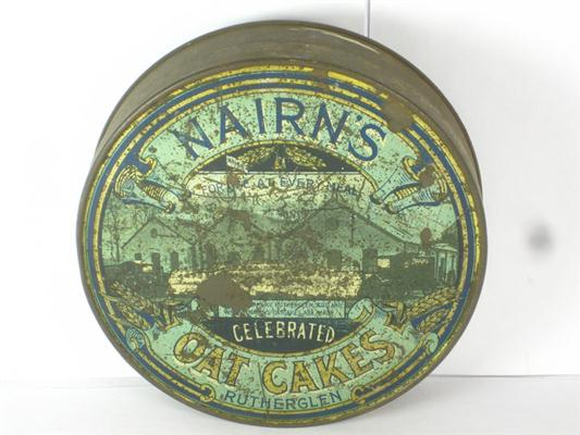 Antique Nairns Oat Cakes Tin